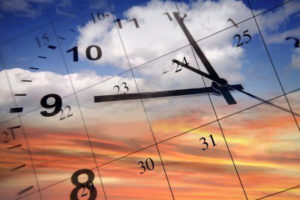 7617404-clock-face-and-calendar-on-sky